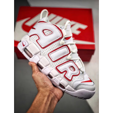 Nike Air More Uptempo OG (Core White/Red)