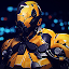 Super Crime Steel War Hero Iron Flying Mech Robot icon