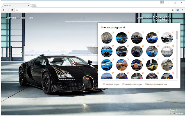 Bugatti Sports Cars Wallpapers Custom New Tab
