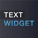 Text widget icon
