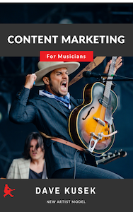 Content Marketing for Musicians ebook