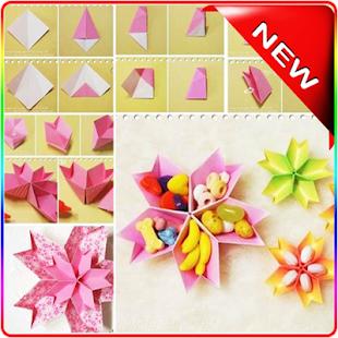 [idea way folded origami] Screenshot 1