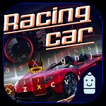 Racing Car Typany Keyboard Icon