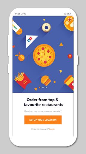all in one food ordering app - 50+ food apps screenshot 1