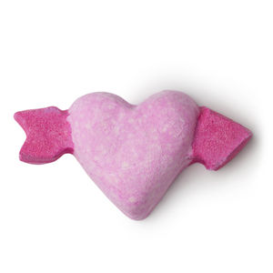 Lush Cupid Bath Bomb cruelty-free vegan