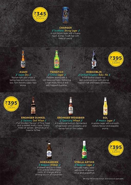 The Beer Cafe menu 6