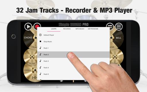 Simple Drums Pro - The Complete Drum App 1.1.7 screenshots 2