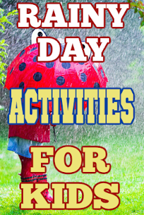 Rainy Day Activities For Kids - náhled