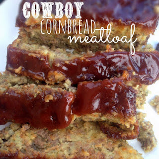 Easy Weeknight Dinners Recipe - Cowboy Cornbread Meatloaf.