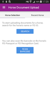 FEI HorseApp screenshot 1