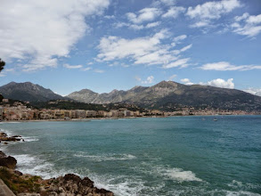 Photo: Menton bay