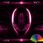 Alien Pink Xperien Theme Icon