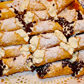 Cannoli time. by Peter DiMarco - Food & Drink Candy & Dessert ( dessert, sweets, italian, cannolis, food )