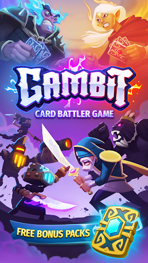 Gambit - Real-Time PvP Card Battler 1.0.1262 screenshots 1