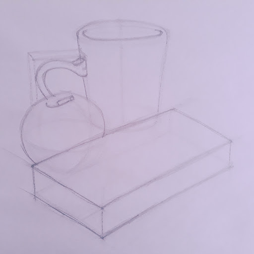 Picture of still life objects