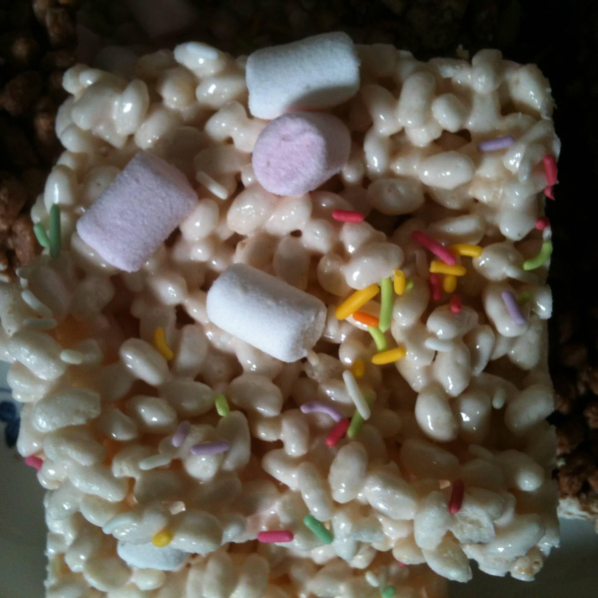 Marshmallow Rice Krispie Treats