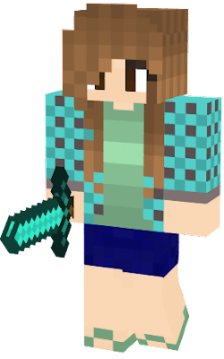 GamerGirl's casual YT skin