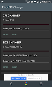Easy DPI Changer [Root] screenshot 0