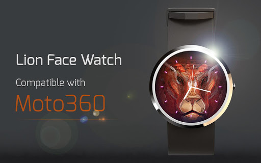 Lion Face Watch
