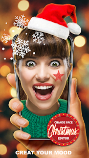 Change Face Editor Christmas - náhled