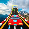 Ramp GT car 2019 Crazy Stunts Impossible Tracks 3D icon