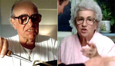 """Photo: Charles e Catherine Scorsese, pai e mãe de Martin Scorsese em cenas do filme """"Os Bons Companheiros""""."""