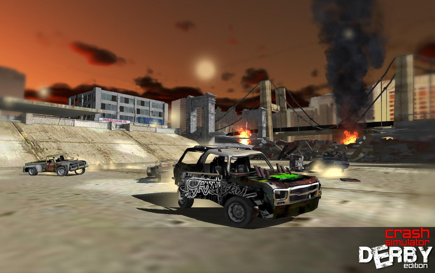 Car Crash Derby Edition Android Apps On Google Play