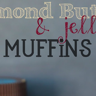 Almond Butter Jelly Muffins