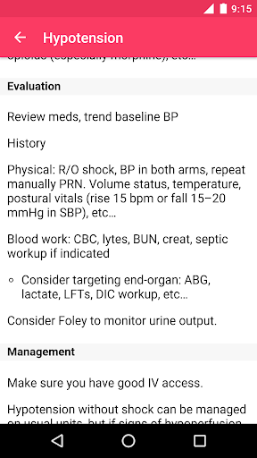 MD on Call - Practical Guide 2019 screenshot