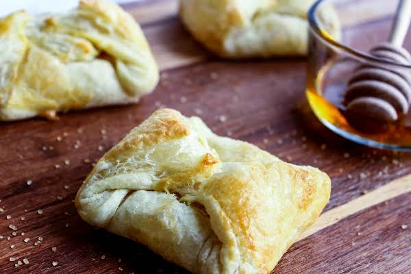 Cream Cheese And Honey Turnovers