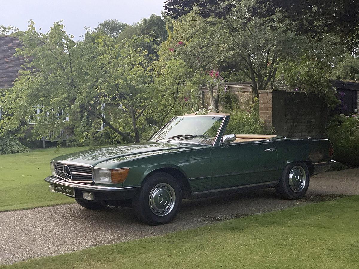 Mercedes 350. Sl Hire London