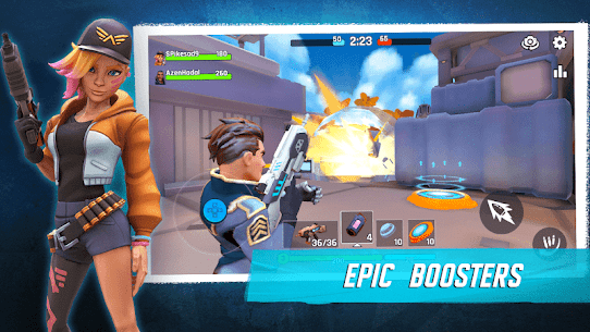 Heroes of Warland – Online 3v3 PvP Action Apk Download For Android and Iphone 3