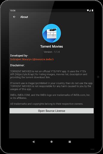 Torrent Movies 1.2.3 screenshots 24