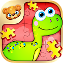 123 Kids Fun PUZZLE RED icon