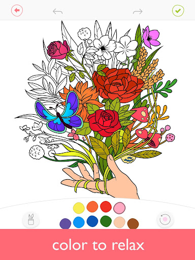 Colorfy: Coloring Book for Adults - Free 3.6.2 screenshots 1