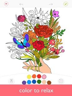 Colorfy: Adult Coloring Book - Free Style Color Screenshot
