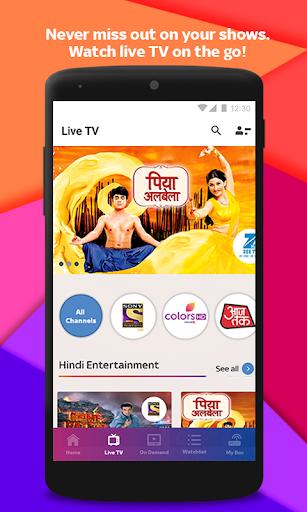 Tata Sky Mobile- Live TV, Movies, Sports, Recharge screenshot 3