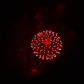ruby lights by Diana Orey - Public Holidays July 4th ( night, 4th, fireworks, lights )