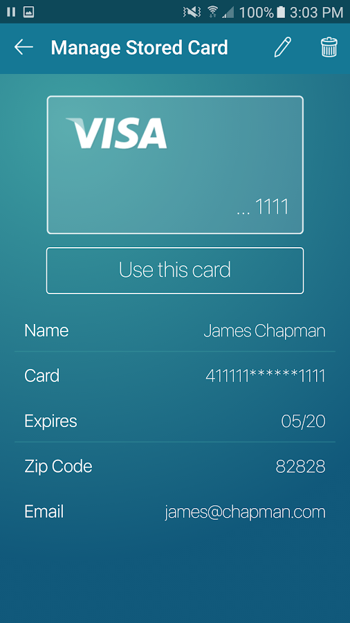 ProPay – Accept Credit Cards- screenshot