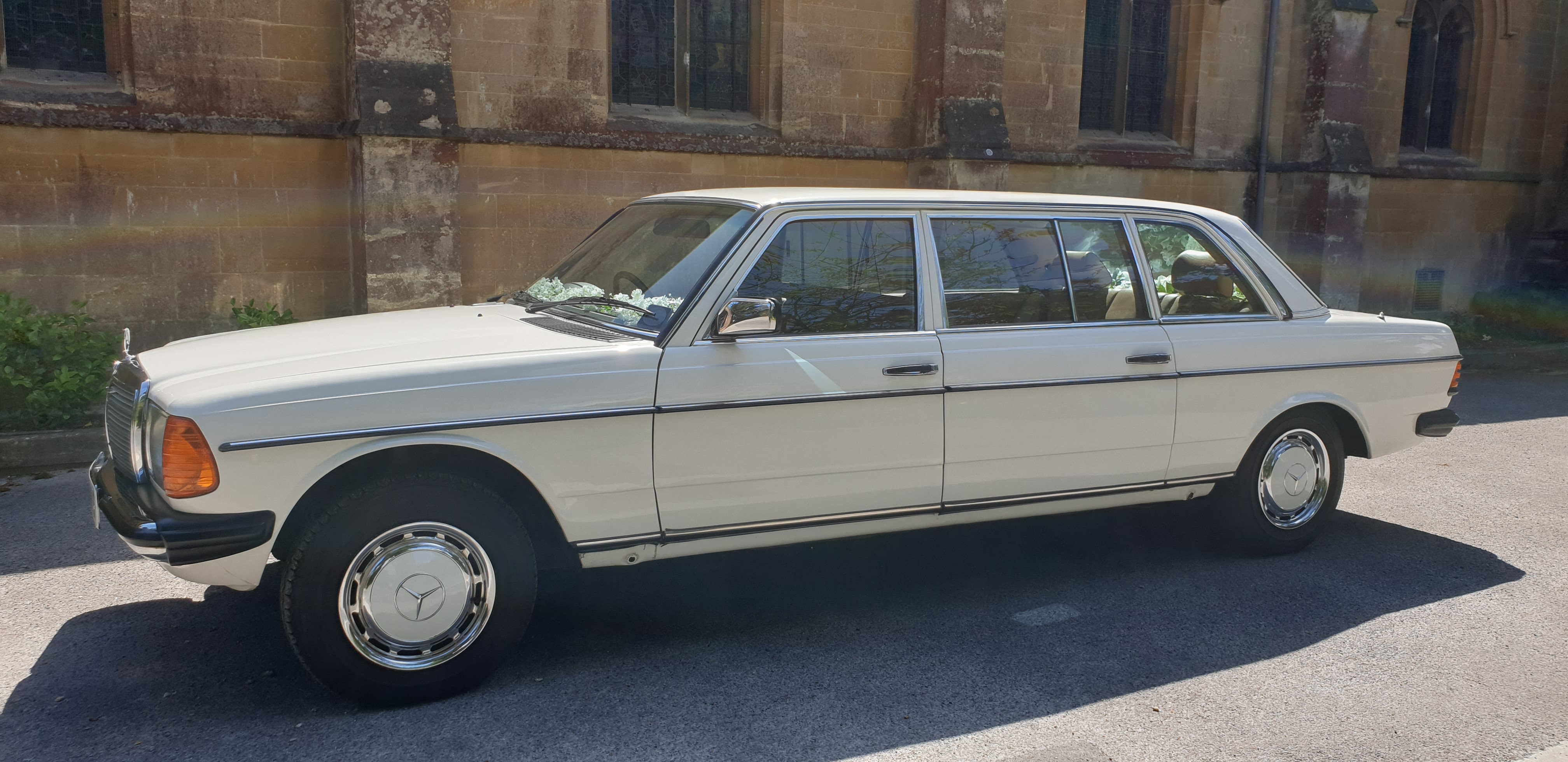 Mercedes-benz W123 Limousine Hire Dorset