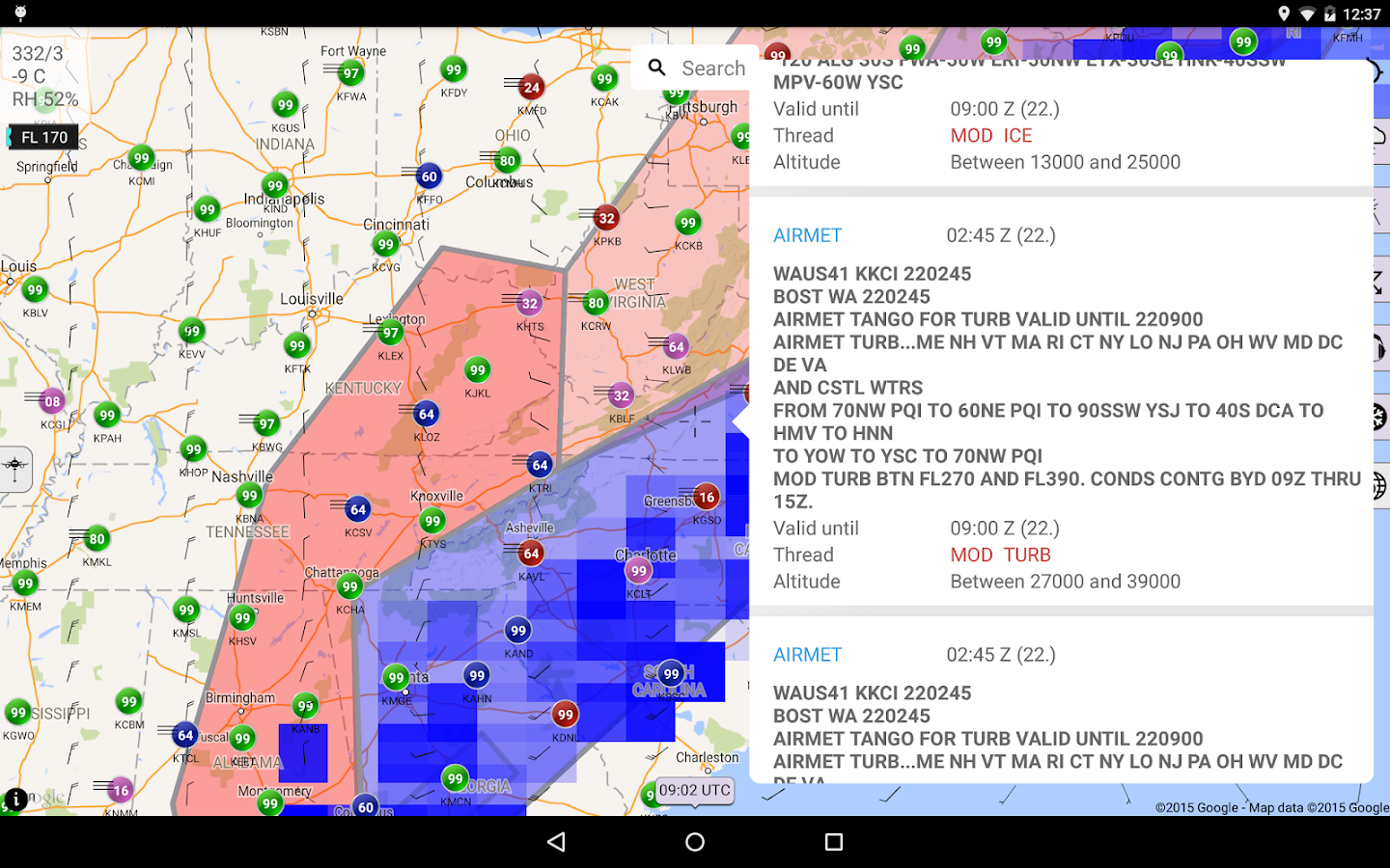 Sky MET - Aviation Meteo- screenshot