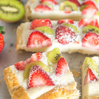 Strawberry Kiwi Tart.