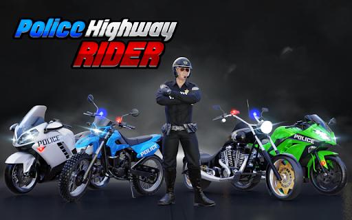 Police Moto Bike Highway Rider Traffic Racing Game modavailable screenshots 13
