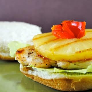 Aloha Grilled Chicken Sandwich.
