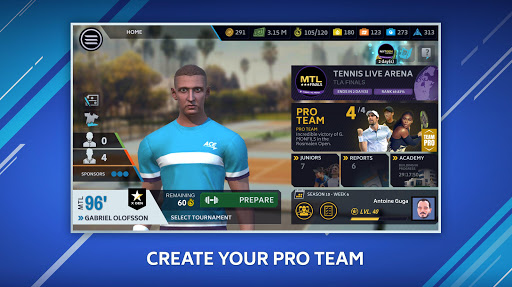 Tennis Manager 2020 – Mobile – World Pro Tour 1.26.5398 screenshots 2