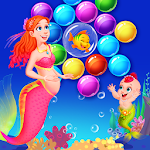 Mermaid Pregnancy Bubble Icon