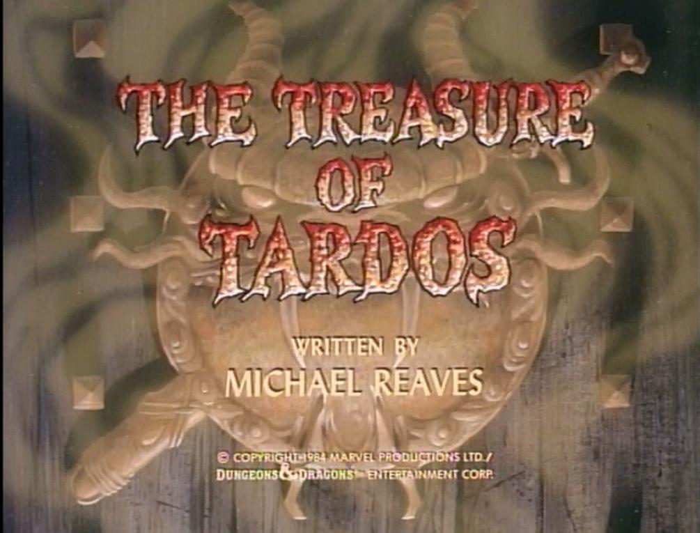 The Treasure of Tardos title card