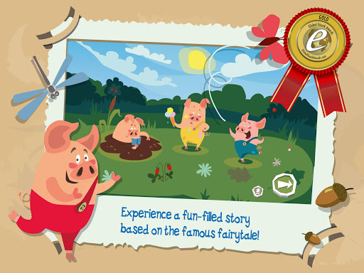 The Three Little Pigs app for Android screenshot