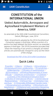 UAW App- screenshot thumbnail
