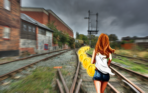 Temple Train Running